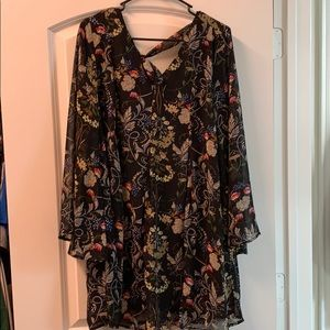 She + Sky Dress Large NWT
